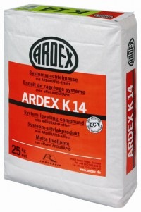 Ardex K 14 Self leveling with ARDURAPID effect