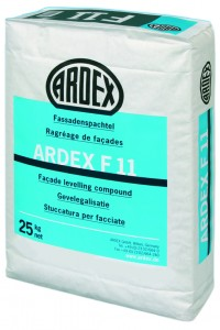 Ardex F 11 Mortar for smoothing and repairing facades